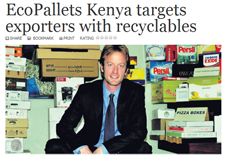 EcoPallets Kenya article picture